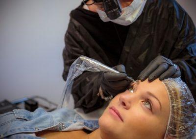 Sopracciglia tatuaggio Estetica Lidia Portomaggiore